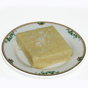 Pâtisserie indienne coco